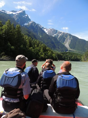 eco rafting bella coola river tours kynoch adventure tours